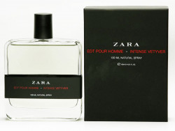 Zara Intense Vetyver Erkek Parfüm