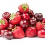 Kırmızı meyveler